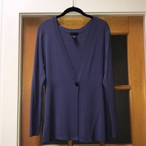 EUC Single button cardigan